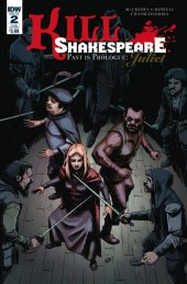 Kill Shakespeare: Past Is Prologue Juliet #2 Subscription Variant
