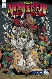 TMNT: Bebop & Rocksteady Destroy Everything #1 Comic Block Variant