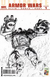 Ultimate Comics Armor Wars #1 Variant Edition 1
