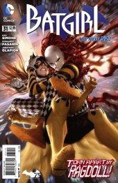 Batgirl #31 Original Cover