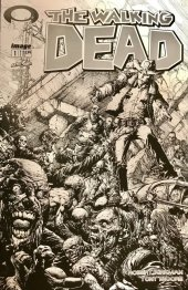 The Walking Dead #1 15th Anniversary Blind Bag Finch B&W Cover