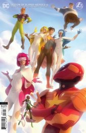 Legion of Super-Heroes #6 Card Stock Variant Cover