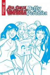 Red Sonja & Vampirella Meet Betty & Veronica #12 1:21 Incentive
