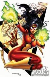The Amazing Spider-Man #15 Tyler Kirkham Spider-Woman Variant