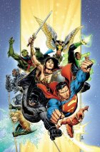 Justice League #1 Thank You Virgin Variant Edition