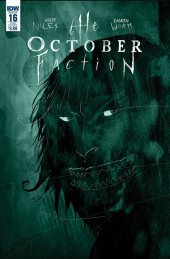 The October Faction #16 Subscription Variant