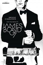 James Bond: Kill Chain #1 Cover E 1:20 Casalanguida B&W Cover