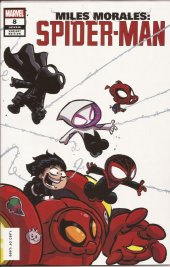 Miles Morales: Spider-Man #8 Skottie Young Baby Variant