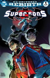 Super Sons #1 Bulletproof Comics Exclusive Mirka Andolfo Variant