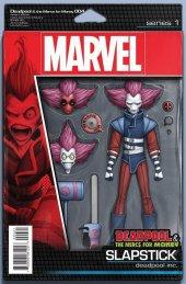 Deadpool & The Mercs for Money #4 Christopher Action Figure Variant