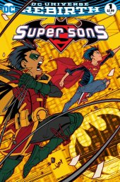 Super Sons #1 Fried Pie Exclusive Jonboy Meyers Variant