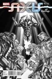 Avengers & X-Men: Axis #1 Hastings Exclusive Black and White Variant