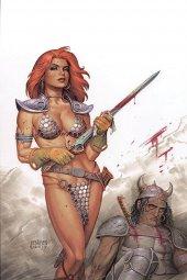 Red Sonja #13 Linsner Ltd Virgin Cover