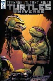 Teenage Mutant Ninja Turtles: Universe #7 Subscription Variant