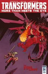 The Transformers: More than Meets the Eye #54 SUB Cover