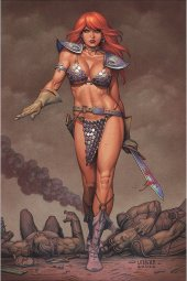 Red Sonja #20 Linsner Limited Virgin Cover