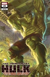 The Immortal Hulk #20 Alex Ross SDCC Variant