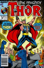 The Mighty Thor #384 Newsstand Edition