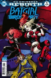 Batgirl and the Birds of Prey #16 Variant Edition