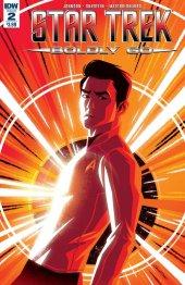 Star Trek: Boldly Go #2 Original Cover
