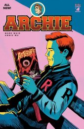 Archie #4 Francavilla Variant Cover C