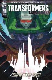 Transformers: Galaxies #4 Cover B Pitre-Durocher