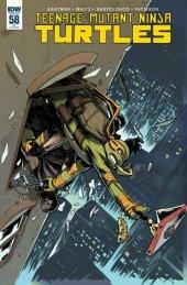 Teenage Mutant Ninja Turtles #58 Retailer Incentive Variant