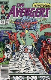 The Avengers #240 Newsstand Edition