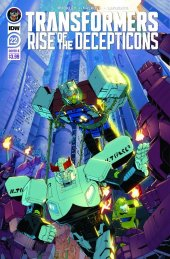 The Transformers #22 Cover B Griffith