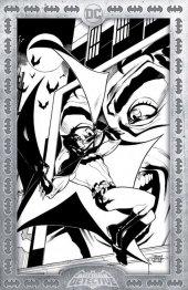 Detective Comics #1027 Terry Dodson Torpedo Comics Black & White Exclusive