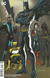 Batman and the Outsiders #8 Variant Edition
