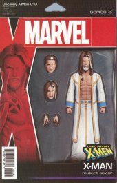 Uncanny X-Men #10 Christopher Action Figure Variant