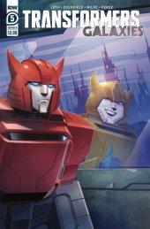 Transformers: Galaxies #5 Cover B Pitre-Durocher