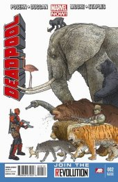 Deadpool #2 2nd Printing