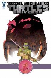Teenage Mutant Ninja Turtles: Universe #22 Cover B variant Mark Torres Cover