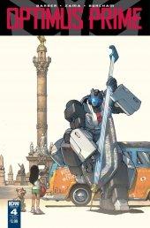 Optimus Prime #4 SUB-B Cover