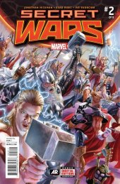 Secret Wars #2 Original Cover