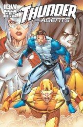 T.H.U.N.D.E.R. Agents #8 Subscription Variant