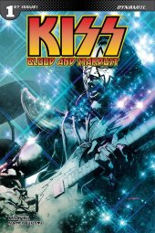 Kiss: Blood And Stardust #1 Cover D Sayger Spaceman