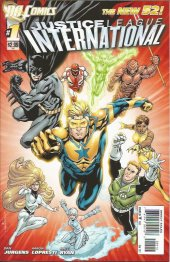 Justice League International #1 Second Printing
