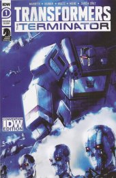 Transformers Vs. Terminator #1 Wondercon exclusive