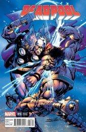 Deadpool #18 Thor Battle Variant