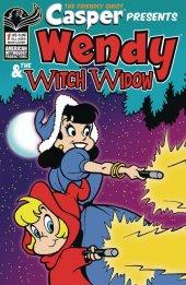 Casper the Friendly Ghost Presents: Wendy & The Witch Window #1 Original Cover
