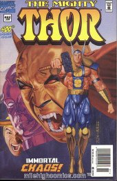 The Mighty Thor #482 Newsstand Edition