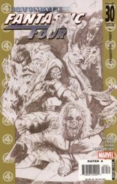 Ultimate Fantastic Four #30 Sketch Cover 1:30