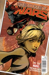 Secret Wars #1 Newbury Comics Variant
