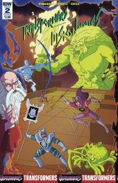 Transformers Vs. The Visionaries #2 Cover B