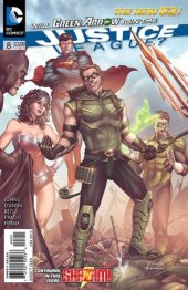 Justice League #8 Variant Edition