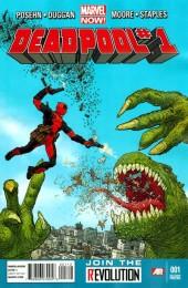 Deadpool #1 2rd Printing