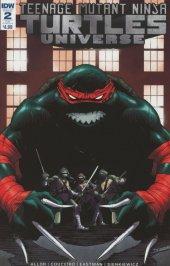 Teenage Mutant Ninja Turtles: Universe #2 Subscription Variant